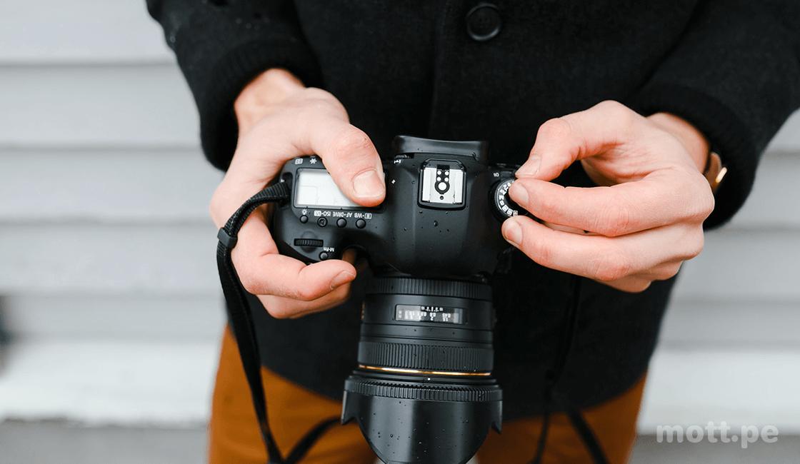Conoce tu cámara y configúrala para mejorar la calidad de fotos