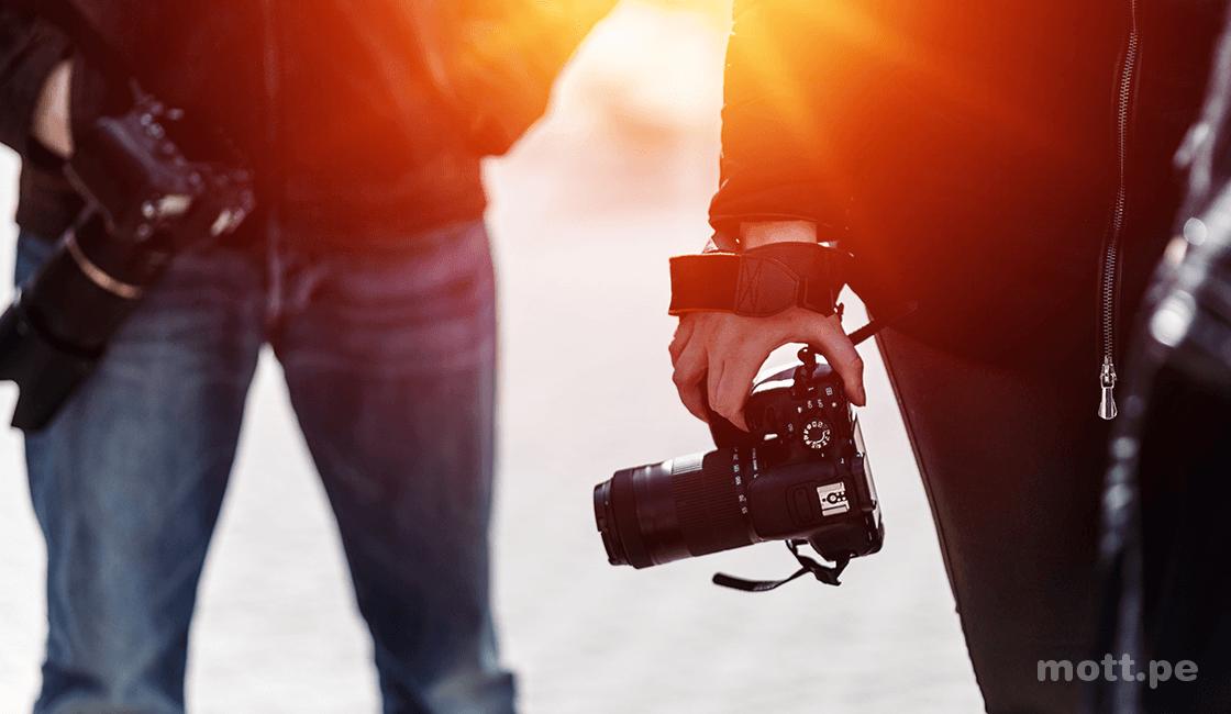 ajustes de camara para foto de alto contraste