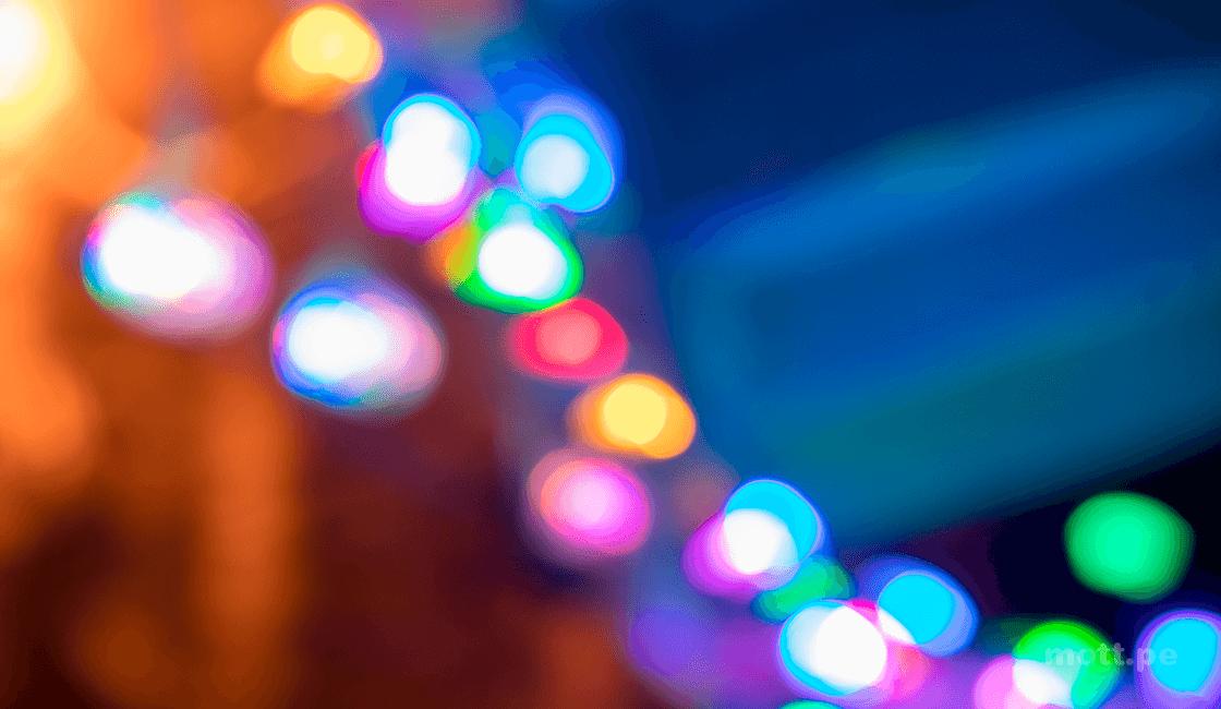 fotos creativas con linternas de colores