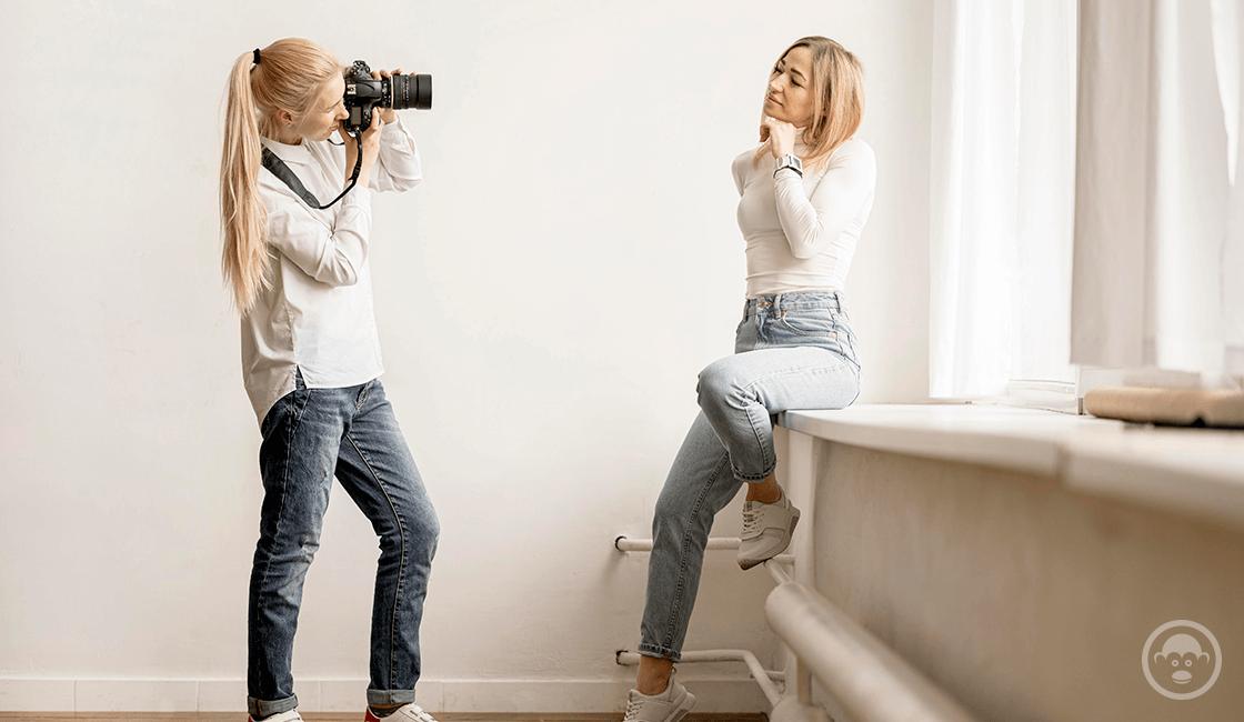 5. Debes estar seguro de que tanto tú, como el cliente estén coordinados, y sacar las mejores fotos de caras