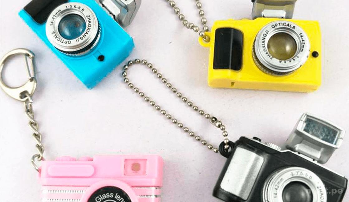 Llaveros regalos para fotógrafos