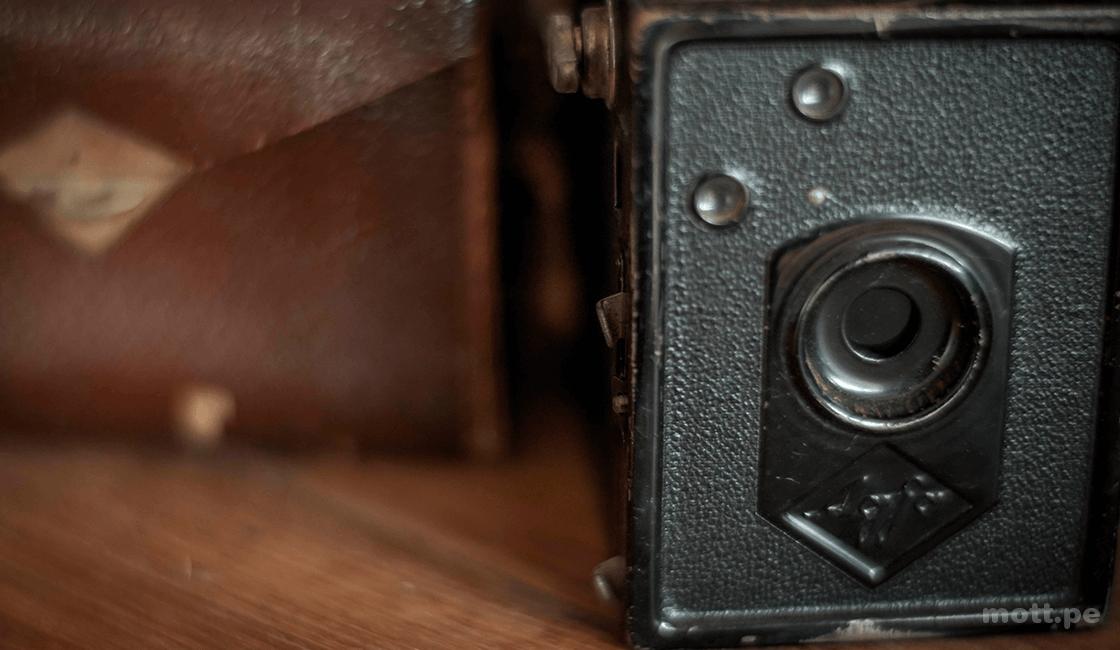 cámara vintage regalos para amantes de la fotografía
