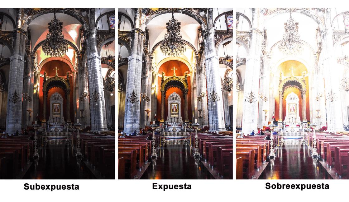 exposicion entre los conceptos básicos de fotografía