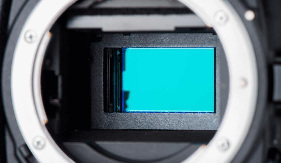 tamaño del sensor fotografia