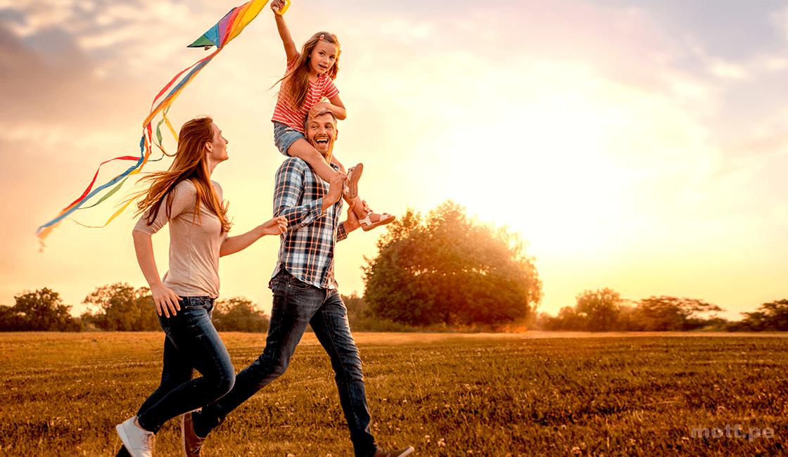 Crea situaciones para la sesión de fotos lifestyle familiar