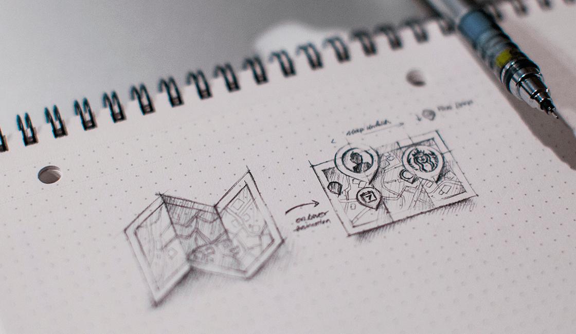 Cuaderno de bocetos de cuadrícula de puntos, el mejor regalo para un diseñador gráfico