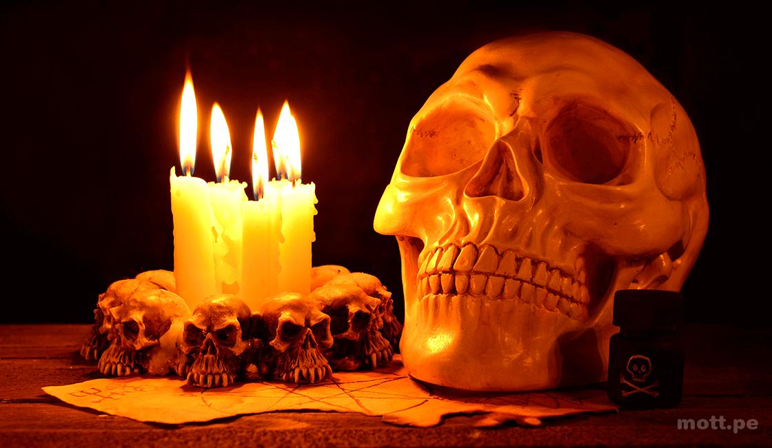 Dominar la luz para la fotografía de Halloween