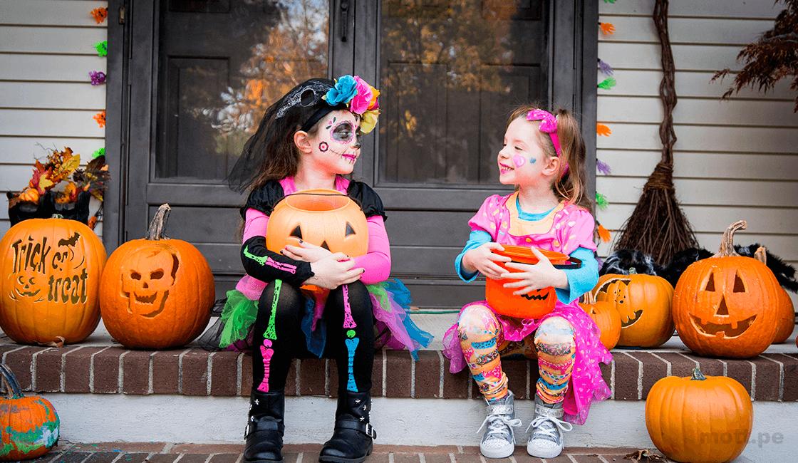 Imágenes de Halloween de niños