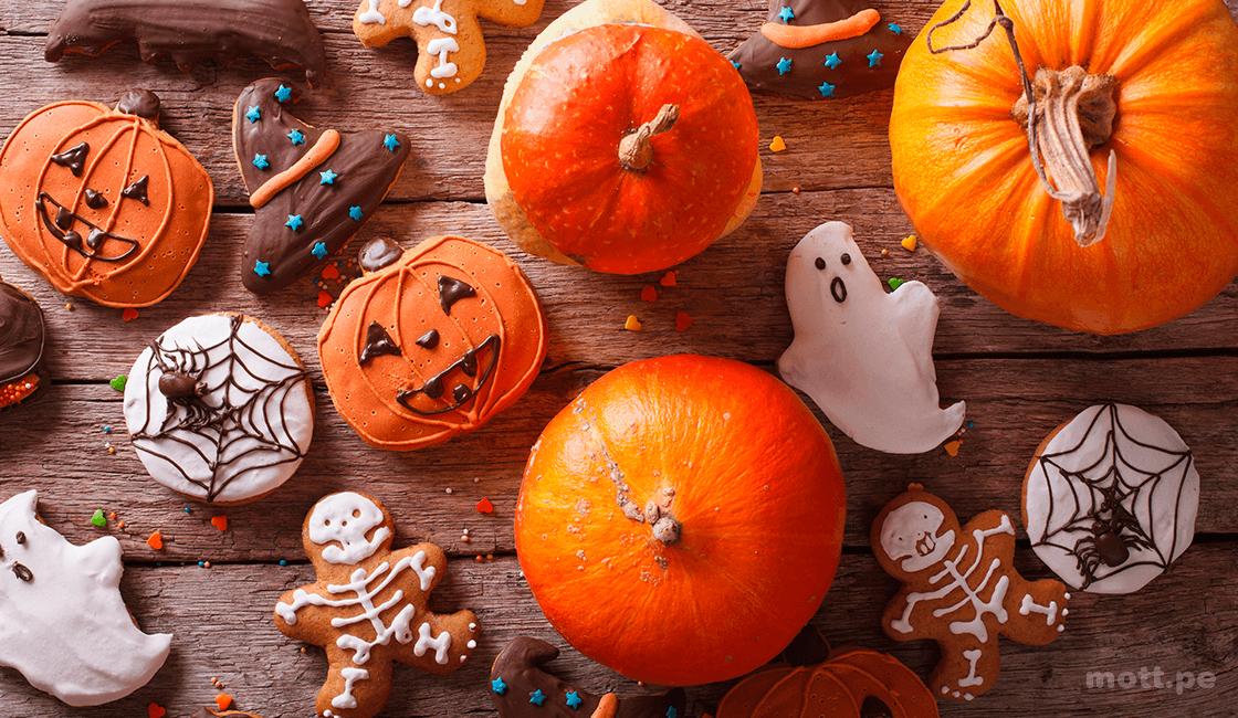 Imágenes de comida de Halloween