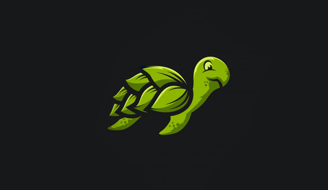 Larga vida, es lo que transmite la simbología de la tortuga en el diseño de branding