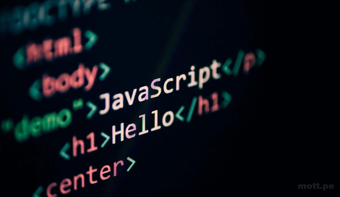 Lenguaje de programación de JavaScript para desarrollo web front-end