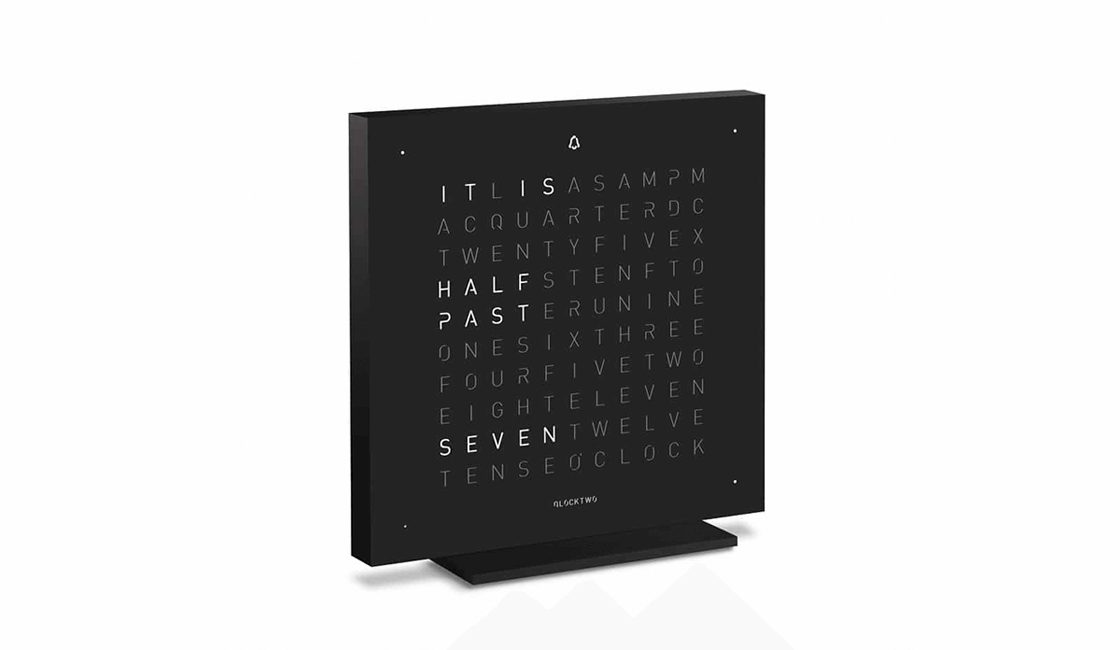 QlockTwo Touch, uno de los regalos más originales para diseñadores gráficos