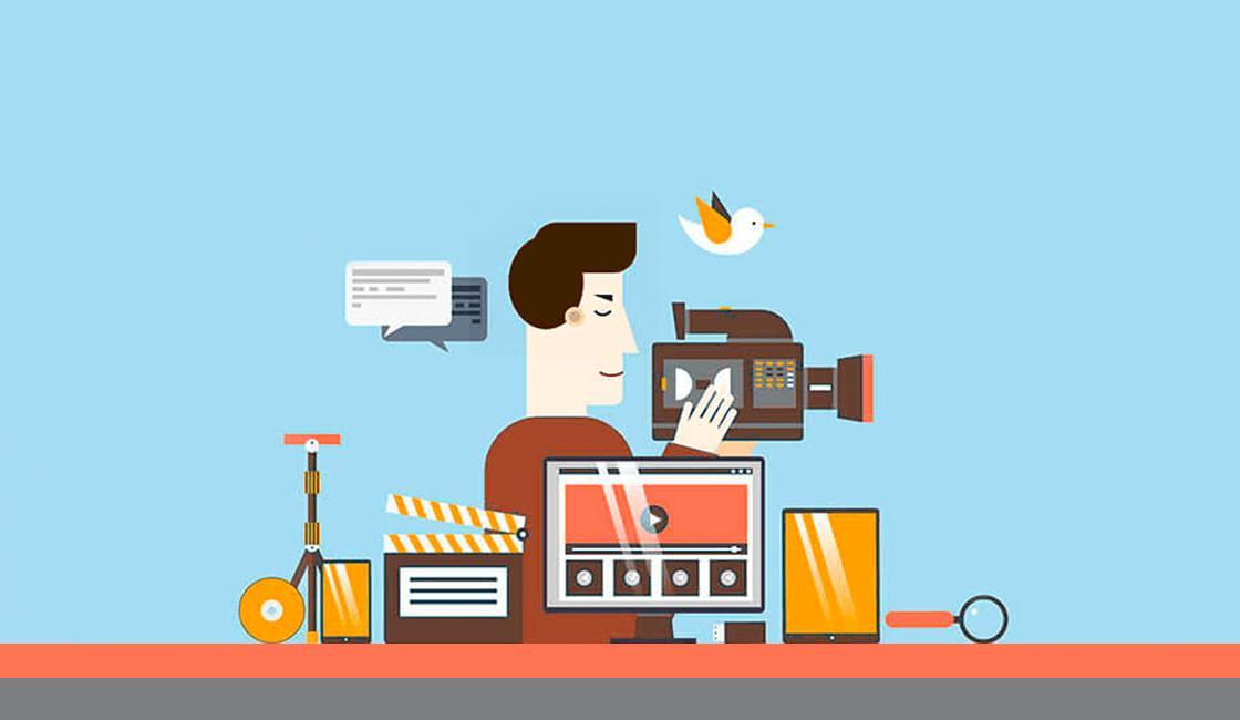 Series de vídeos como parte de contenidos en marketing visual