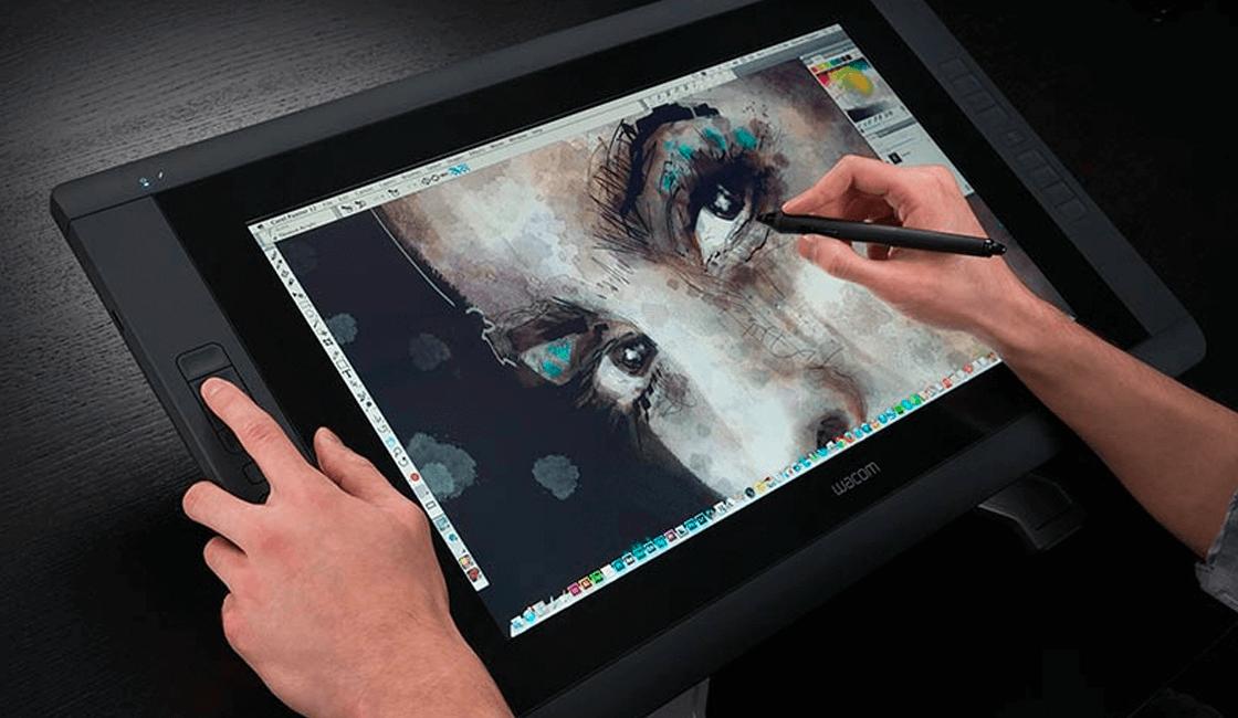 Una tablet de dibujo multitáctil de diseño gráfico, un regalo novedoso