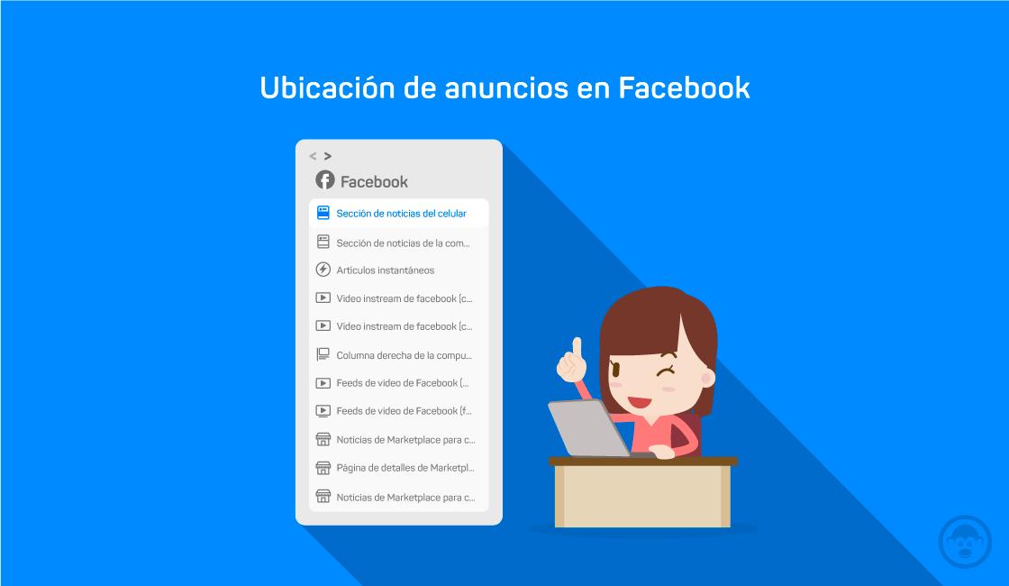 11. Ubicación de anuncios en Facebook