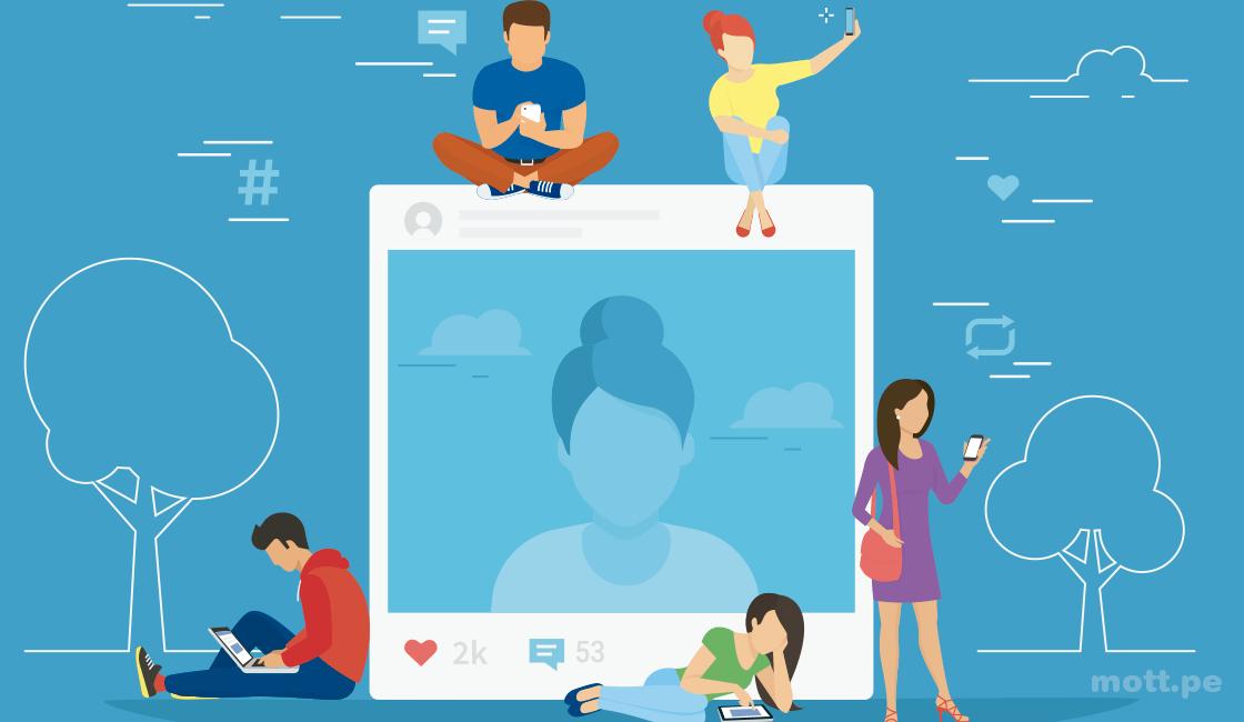 Acompañe las publicaciones en las redes sociales con imágenes potentes y atractivas