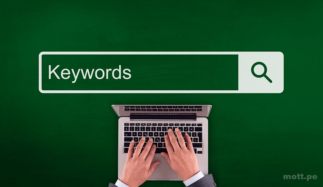 Haga su investigación de palabras clave