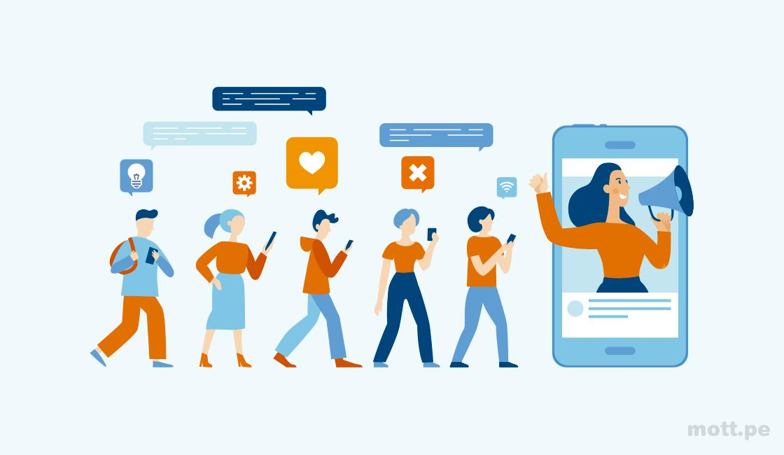 Invierta en marketing en redes sociales de micro influencias
