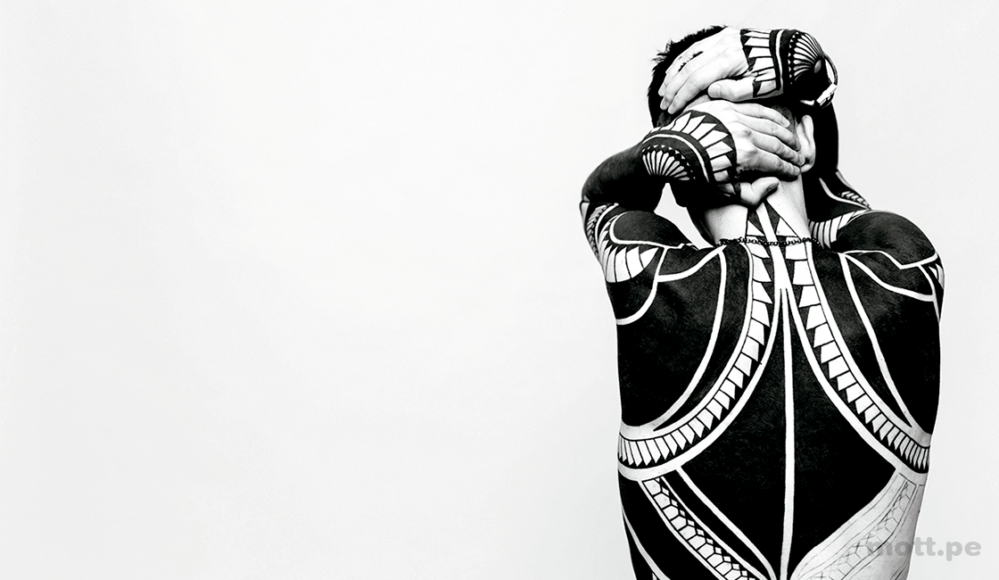 Imágenes-abstractas-de-personas-con-fotografía-corporal-de-tatuajes-creativos