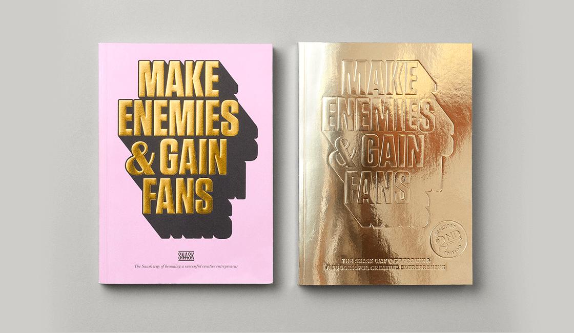 Make-Enemies-Gain-Fans-por-Snask-es-uno-de-los-libros-para-diseñadores-gráficos