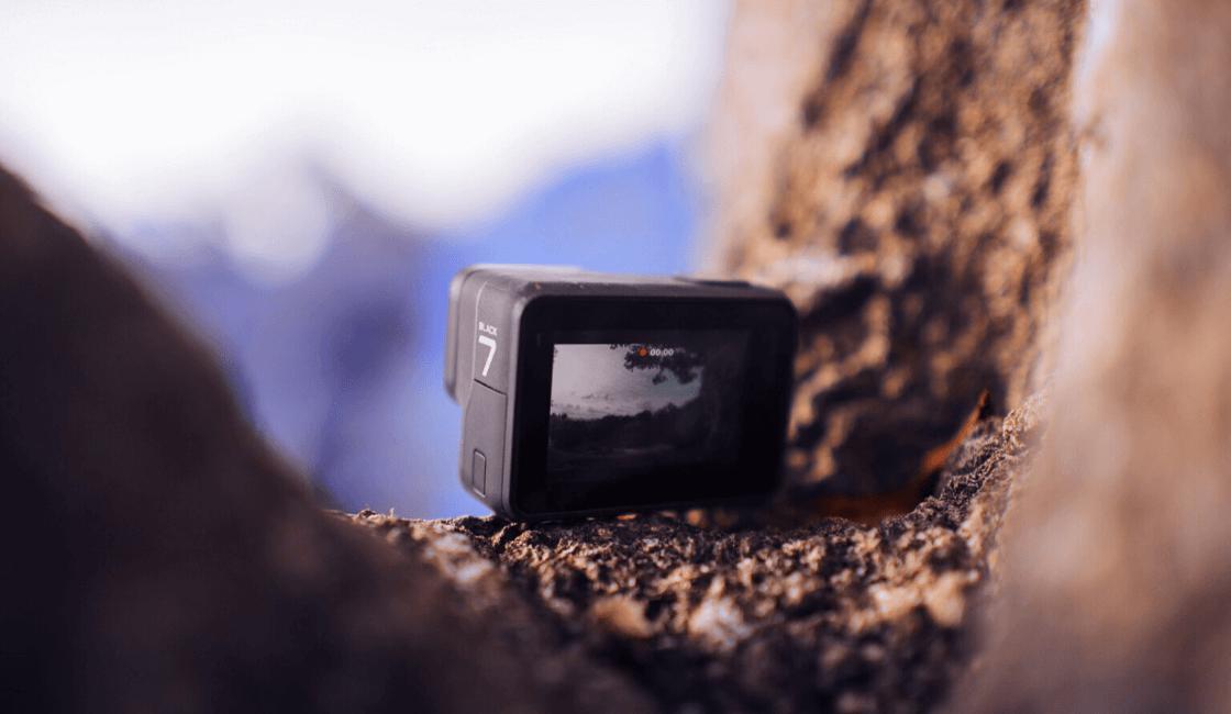 cómo sacar fotos con cámara GoPro