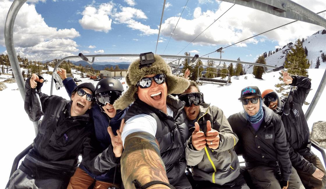 Cómo tomar una buena selfie con GoPro