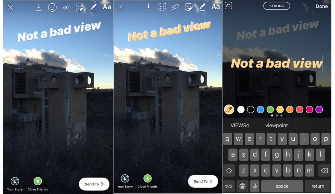 Trucos-historias-de-Instagram-crea-un-efecto-de-sombra-paralela-en-tu-texto