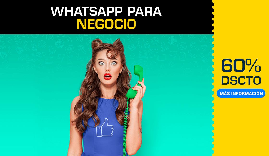 Seminario de WhatsApp Business: Clientes potenciales de calidad en Los Olivos