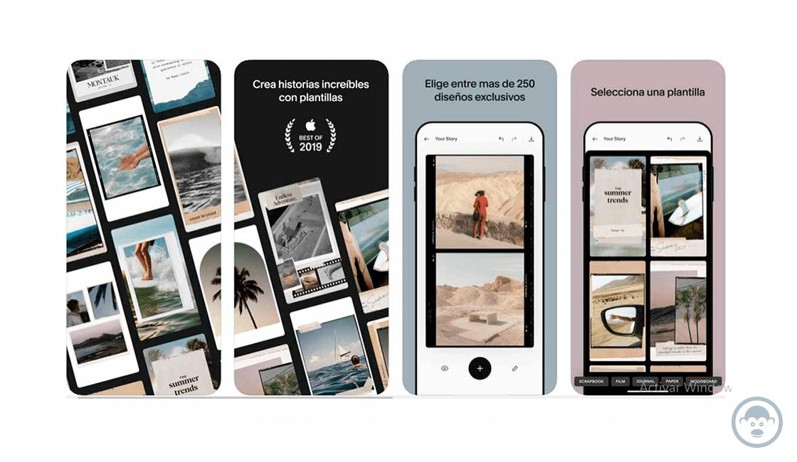 Unfold, el editor de stories para Instagram