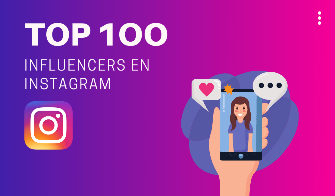Top 100 influencer en Instagram del mundo