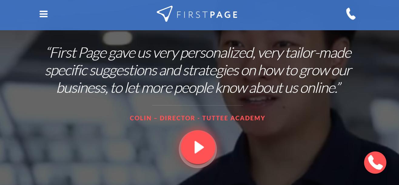 firstpage agencias de marketing digital