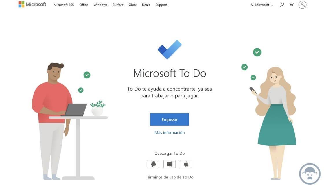 Microsoft To Do app trabajo remoto