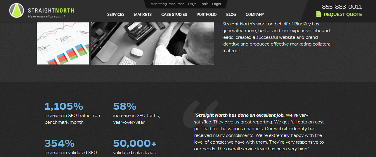 straight north top de 100 agencias de marketing digital