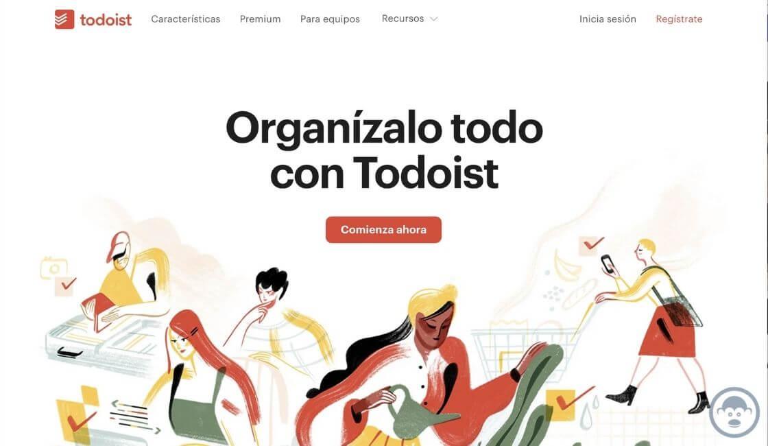 aplicacion home office Todoist