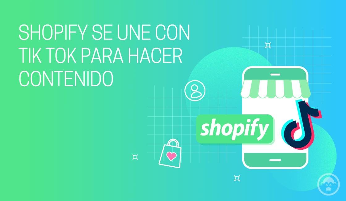 shopify se une a tiktok