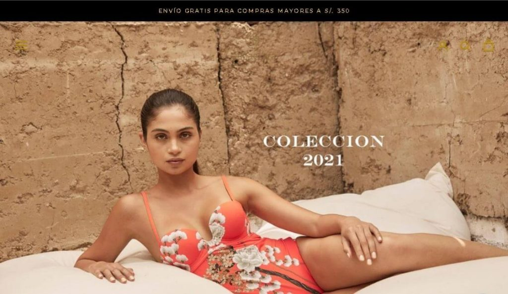 marca de moda peruana agua clara