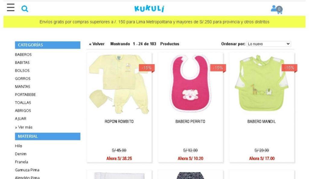 marca de moda peruana infantil kukuli