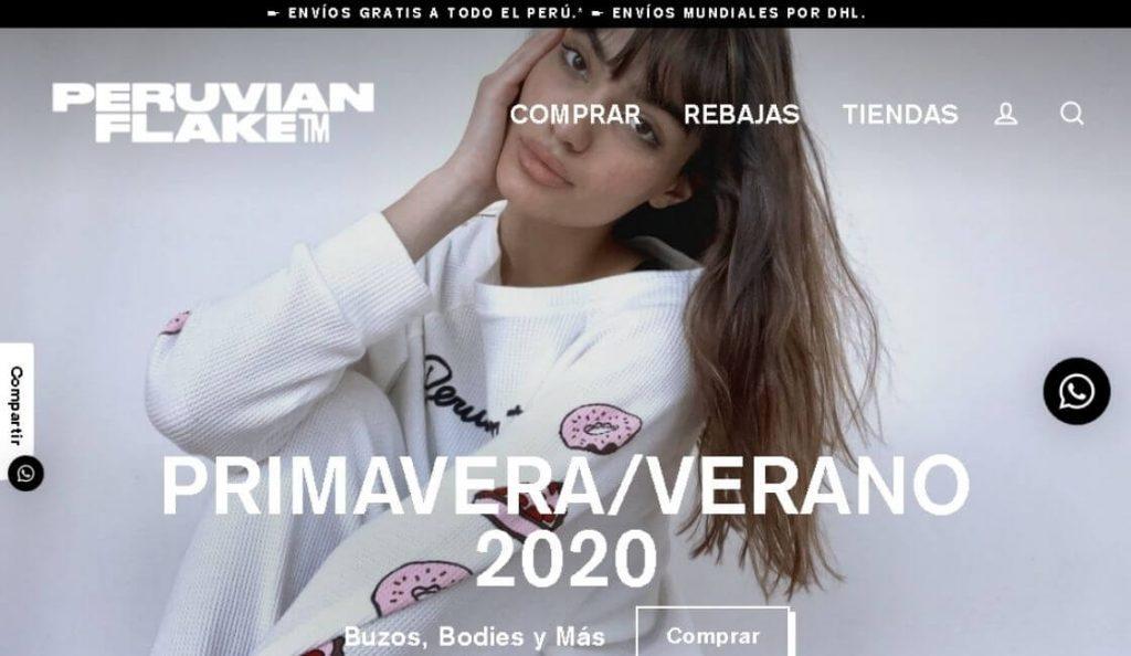 marca peruana de moda peruvian flake