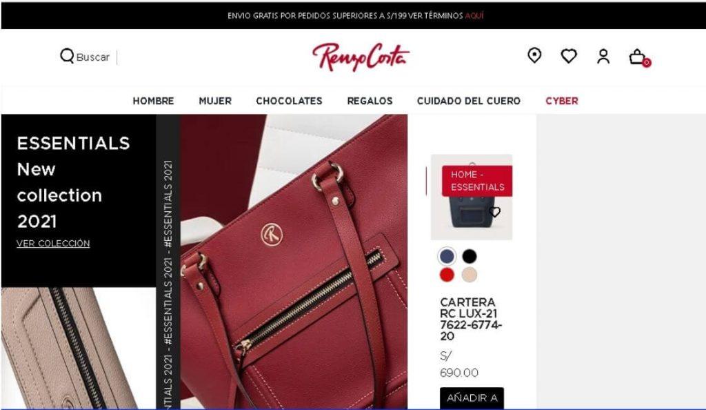 marca peruana de moda renzo costa