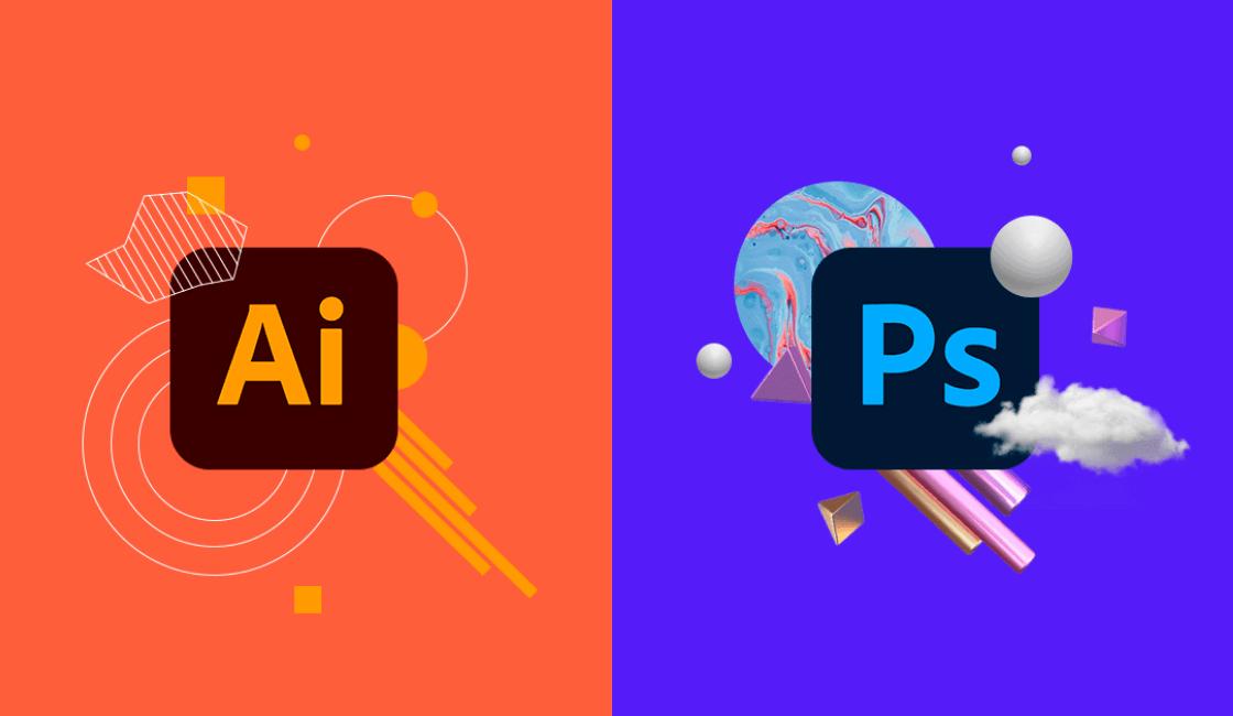 illustrator y photoshop