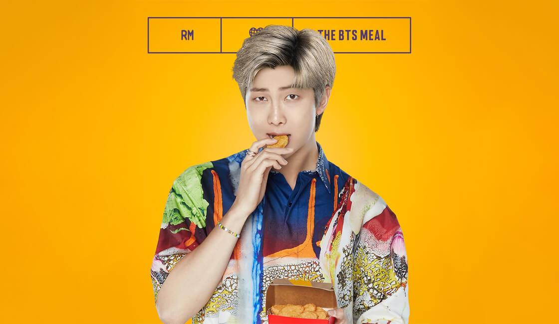 Bts Meal campaña