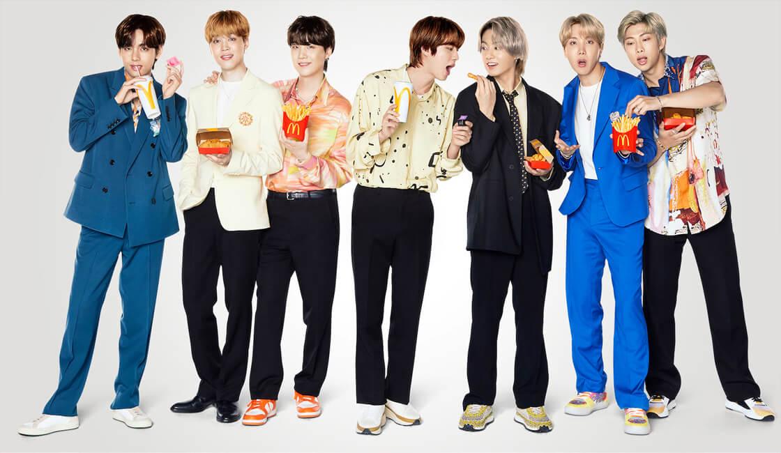 BTS y McDonalds crean campaña