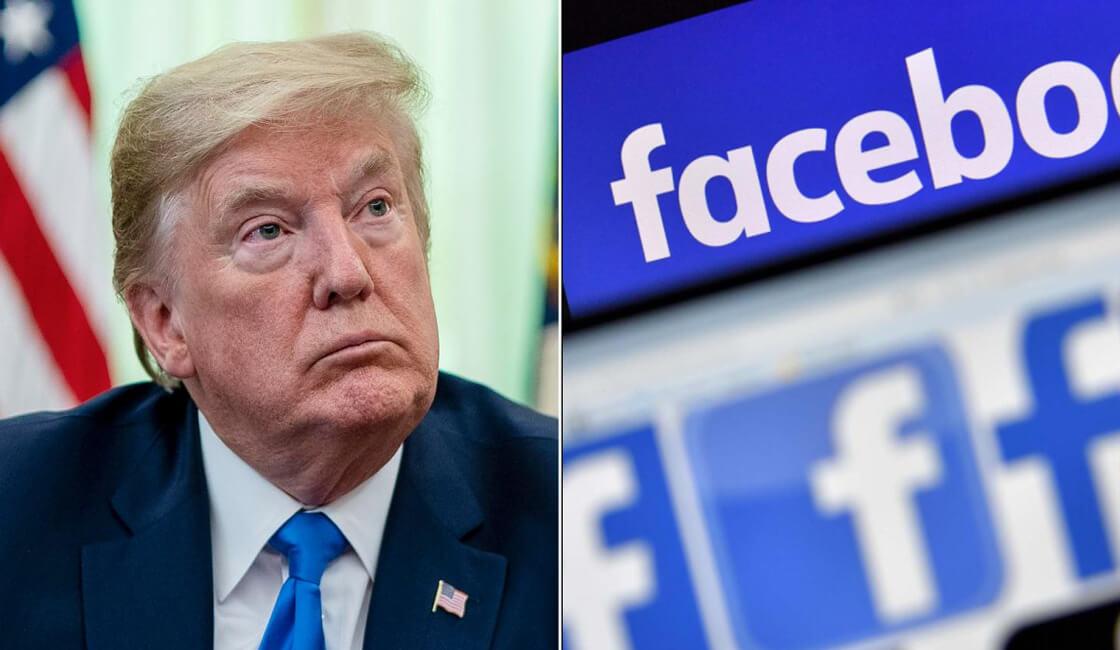 Facebook no censura mensajes racista de Donald Trump