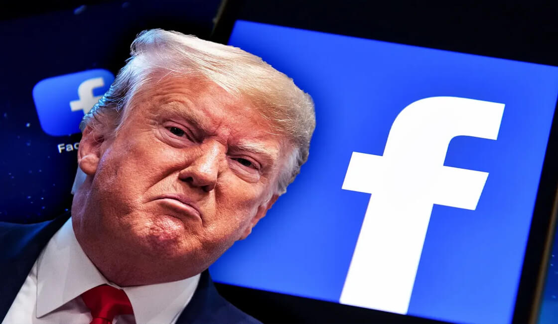 Facebook cuenta VIP Donald Trump