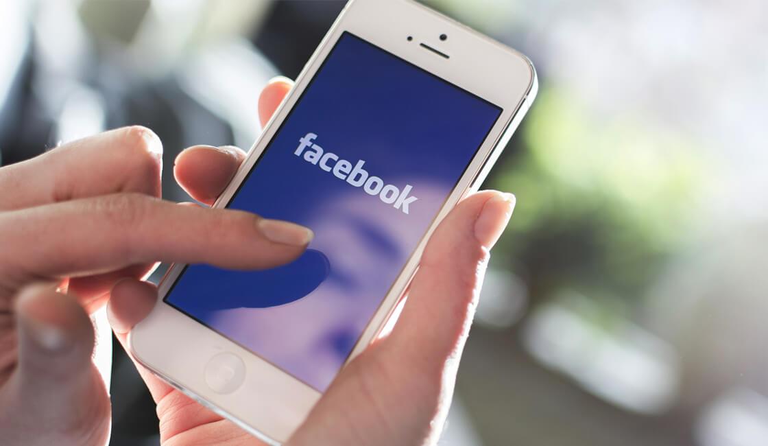 Facebook en telefono
