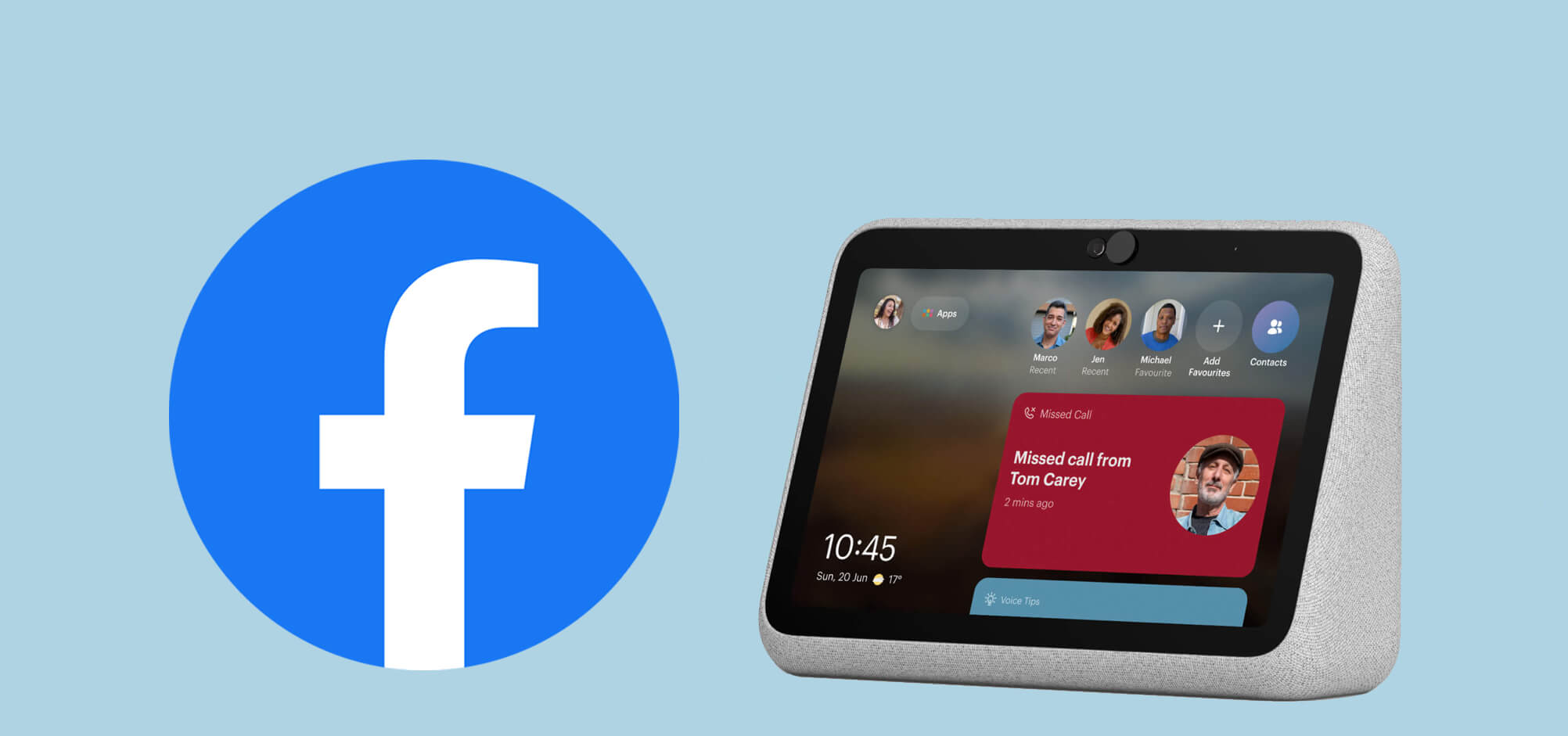 Facebook version portatil para videollamada