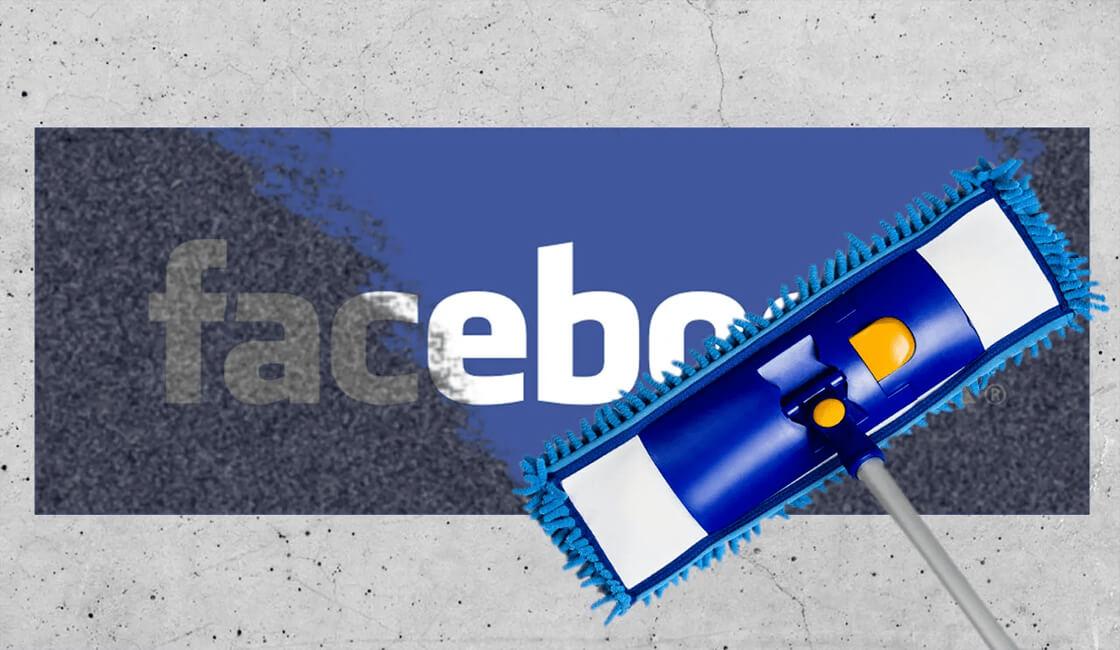 Facebook limpia su imagen