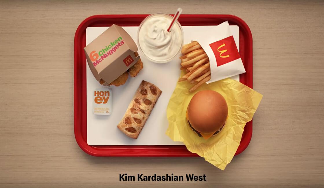 McDonalds y kim kardashian