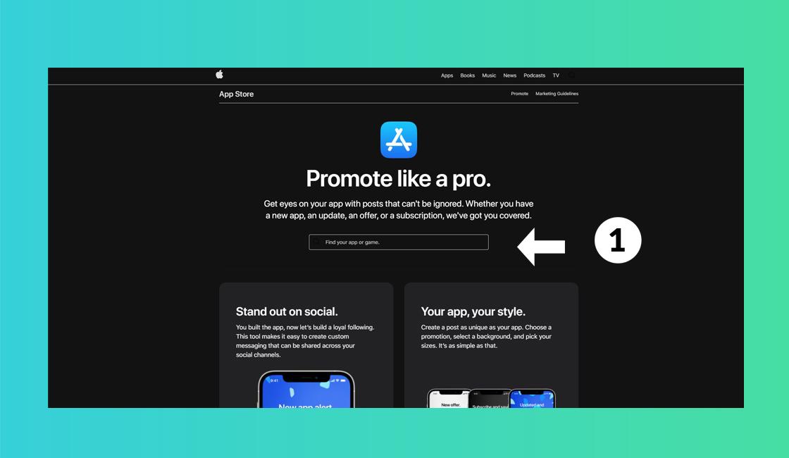 Usar las nuevas herramientas de marketing de promoción de Apple