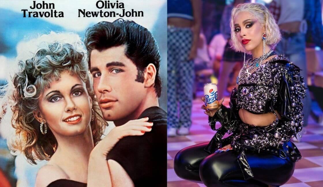 Pepsi y Doja Cat en musical Grease